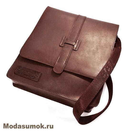 331610d4034a Сумка-планшет мужская из натуральной кожи BB1 940120 коричневая ...
