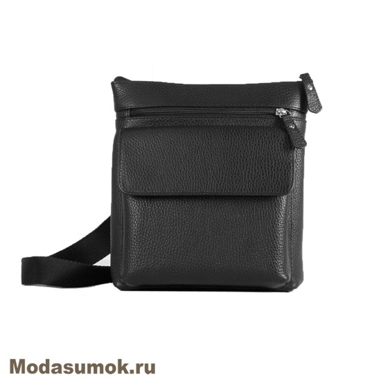 87dc043596b1 Сумка-планшет мужская из натуральной кожи Alexandr P 17 черная ...
